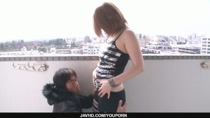 Alice Ozawa gives a japan blow