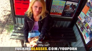 Fucking Glasses - Greedy slut