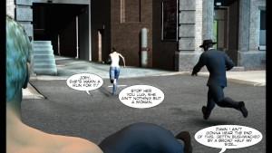 3D Comic: Shifter. Episodes 1-4