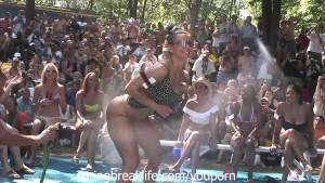 Naked Booty Shake Contest