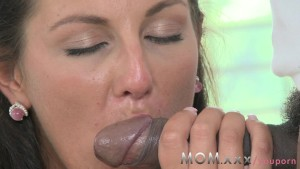 MOM Mature Wife fucks Big Black Cock