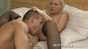 MOM Young stud fucks his MILF lover