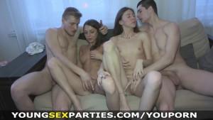 Young Sex Parties - Teens share boyfriends dicks