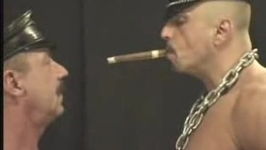 Smoking Leather Hunk and Daddy