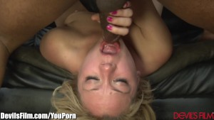 DevilsFilm Interracial Blonde