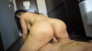 galilea shakes her monster booty and gets fucked
