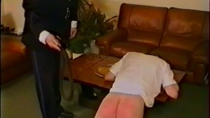 Angry Cop Spanks a hot Thief