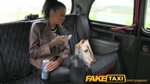 FakeTaxi Free ride for backseat blowjob