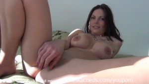 Glass See Through Dildo Bang Out Milf