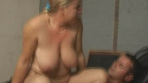 Dutch BBW Gets Creampie Surprise
