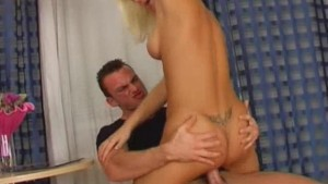 Hard Anal For Blonde German Czech Chick