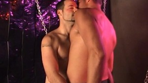 Stud Licks A Hairy Asshole - Factory Video