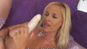Dirty Talking Milf Stuffs Hers