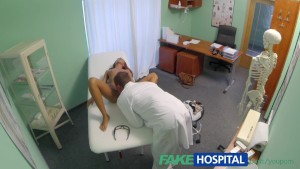 FakeHospital Fit young slim girl loves men in uniform doc cums inside her