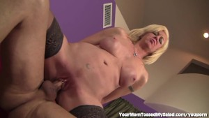 Horny MILF Loves To Lick Ass