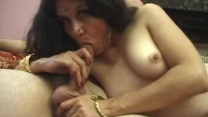 Hot Cock Sucking Indian Babe Fucked