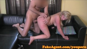 FakeAgent Tight pussy makes me cum quick