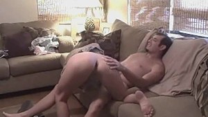 Hot Couch Sex With Amateur GF