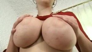 monster boobs in action