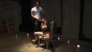 Authentic BDSM Electro Stimulation Play