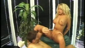 Blonde Cougar Gets Fucked Hard - Telsev