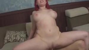 Cock Ridin Redhead Milf Babe