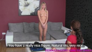 FemaleAgent HD Easy sexy blonde target