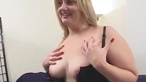 BBW In Lingerie Stripped And S