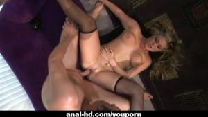 Blonde slut Bailey enjoys some
