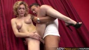 Juicy Blonde Lily Labeau Sucks Cock and Fucks Hard Before Getting Facial