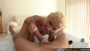 Sexy Blonde Slut Annika Albrit