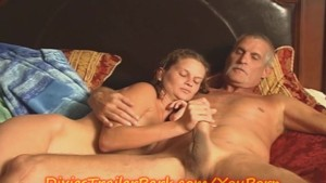 Step Daddy FUCKS the Teen Age