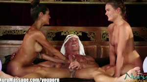 Sneak Peek: Nuru Massage The Sheik's Slippery Threesome