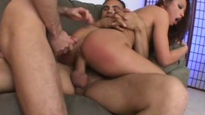 2 guys throat fucking latina - Shock Wave