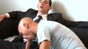 I ll sign this contract only if i can suck your huge cock of straight guy !