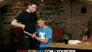Oh God, he seduces me into homo sex!