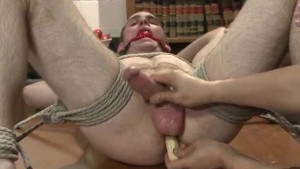 Straight Professor Edged And Teased With Fruit