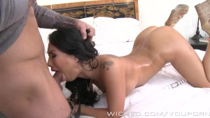 Asa Akira masturbates and take