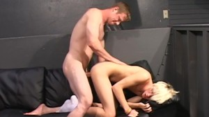 Facefucking blonde twink - Factory Video