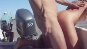 Wife gets banged on boat