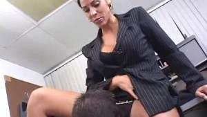 Veronica Rayne MILF office fuck