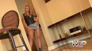 WCPClub Horny Housewife Milf enjoys BBC and a facial