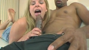White Babe Gets A Huge Facial
