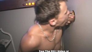 Ex Gang Member Blows Glory Hole Cocks!