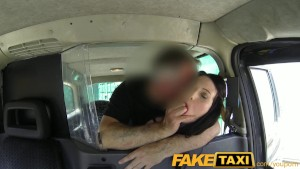 FakeTaxi Gothic looking woman