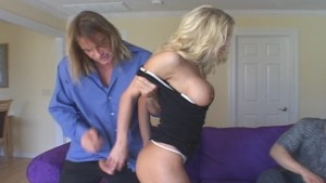Nerdy Hubby Wants His Wife To Get A Real Hard One