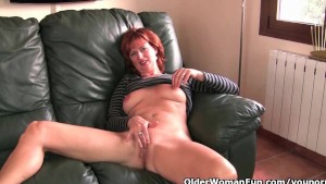 British milfs love masturbating in front of the camera