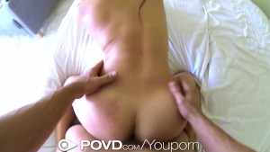POVD Exotic girl fingered and fucked hard in POV