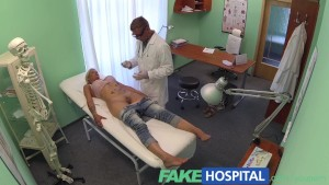FakeHospital Doctor probes patients pussy with his cock for best test results