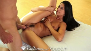 Pure Mature Teacher gets creampied by her student